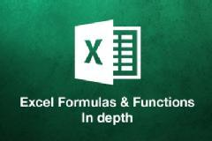 Excel Formulas & Functions - In depth