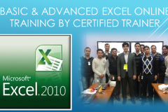 Basic & Advanced Excel, MIS, Macros Training by Certified Trainer