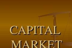 Certificate in Capital Market