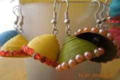 Fashion Paper jewellery making
