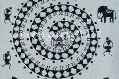 Go tribal with Maharashtra Warli painting