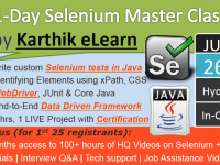 Selenium 1-Day Master Class at Hyderabad