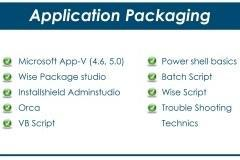 Application packaging training