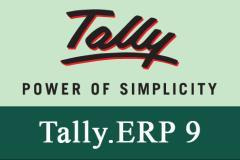 Professional Tally ERP 9.0 Course