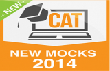 CAT Online– New Mocks 2014