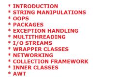 Become a Java Expert