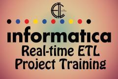Informatica ETL Realtime Project Training