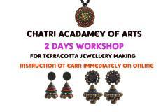 Two Days Advanced Terracotta Jewellery Making with instruction to sell online and earn money instantly