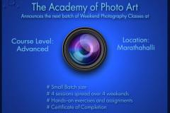 Advanced Level Photography Classes