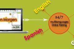 Spoken German language online teaching