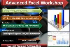 Advanced Excel Workshop in Pune for working professionals