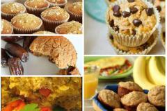 Eggless Breakfast Muffins