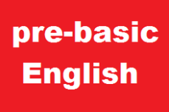 Pre-basic English- Spoken English Course for Absolute Beginners