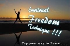 Emotional Freedom Technique-Tap your way to a New Stress-Free You!!!