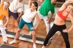 Yoga an aerobics classes only for ladies