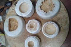 Silicon and POP mold making class for terracotta jewellery