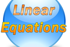 CBSE 8th Math - TOPIC : LINEAR EQUATION.