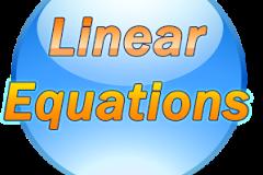 CBSE 8th Math - TOPIC : LINEAR EQUATION.