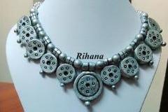 Rihana Terracotta Jewel Making Class- Summer Course