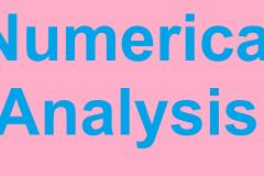 Engineering Mathematics - Numerical Analysis