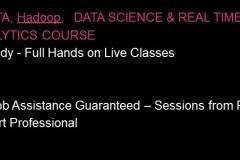 Kafka , Spark , Scala and Hadoop  Training