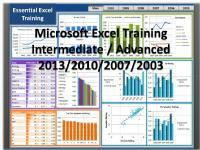 Advanced Excel Training For Professionals On Weekends