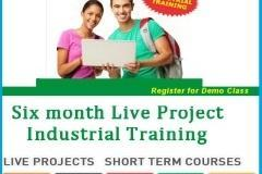 Summer Internship & Industrial Training for MCA, M.Sc, B.Sc