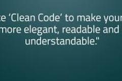 Writing Clean Code - Industry Norms