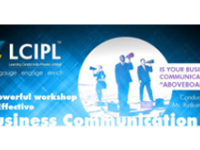 A Powerful workshop on Effective Business Communication