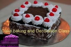 Cake baking and decorations