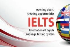IELTS training class