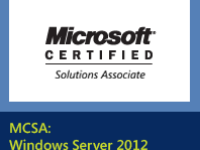 Become a MCSA 2012 Certified Person