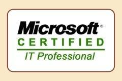 Become a MCITP Certified Person