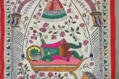 Learn to do a Madhubani Painting