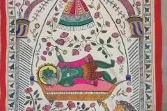 Learn to do a Madhubani Painting