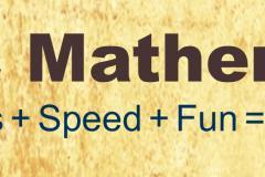 Vedic mathematics training
