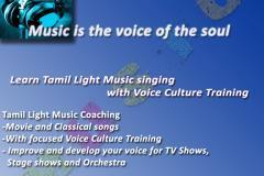 Tamil Light Music Coaching