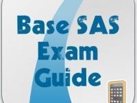 Base SAS Global Certificate Exam Preparation