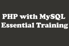 PHP with MySQL - Essential Training