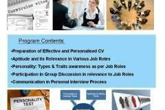 Training Program on: Effective Performance in Group Discussion & Interview Process