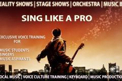 Sing Like A Pro - An exclusive Voice Training for singers to sing in TV Reality Shows | Stage Shows | Orchestra | Music Band