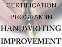 Handwriting Improvement Certification Program