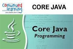 Core Java Fundamentals Training At Continued Learning Pune
