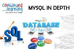 Learn Mysql in Depth with Continued Learning Pune