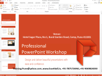 Professional PowerPoint Workshop on weekend for working professionals