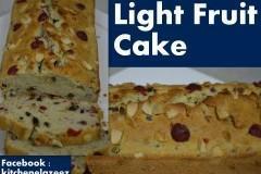 Learn to make Cakes like Plum, Walnut, Banana and light fruit cake