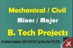 BTech Major and Minor Projects - Mechanical, Civil, Electrical and Electronics