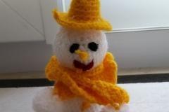 Crochet soft toy making