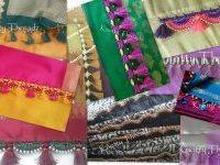 Crochet or Krosha Saree Tassels making