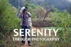 Serenity through photography
